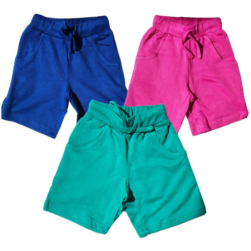 Kids Explorer Shorts with Pockets - Organic Cotton 3-Pack (TPN)