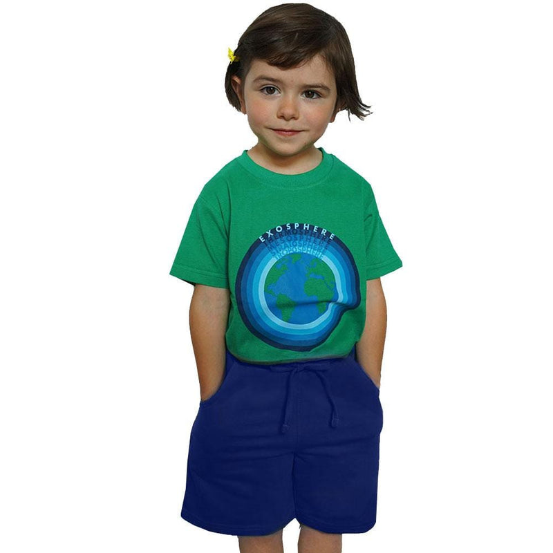Kids Navy Back to School Uniform Shorts with Pockets - SVAHA USA