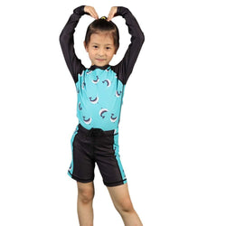 Kids Narwhals Swimsuit, Kids Narwhale Swimsuit, Kids Oceanography Swimsuit, Kids Sea Creatures Swimsuit, Kids Rashguard, Kids Fish Swimsuit, Kids Narwhals Rashguard - SVAHA USA