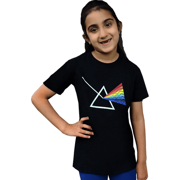 Kids Prism Shirt, Kids Crystal Shirt, Kids Rainbow Shirt, Kids STEM Shirt, Kids Science Shirt, Kids Prism Shirt, Kids Refraction Shirt, Kids Triangle Shirt, Kids Math Shirt, Kids STEM Shirt - SVAHA USA