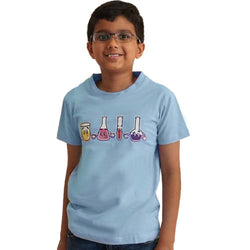 Kids Chemistry Tee, Kids Science Tee, Kids STEM Tee, Kids Chemical Tee, Kids Lab Equipment Tee, Kids STEM Tee, Kids Science Tee, Kids Chemistry Tee, Kids Beakers and Flasks Tee, Kids Chemistry Lab Equipment T-Shirt - SVAHA USA