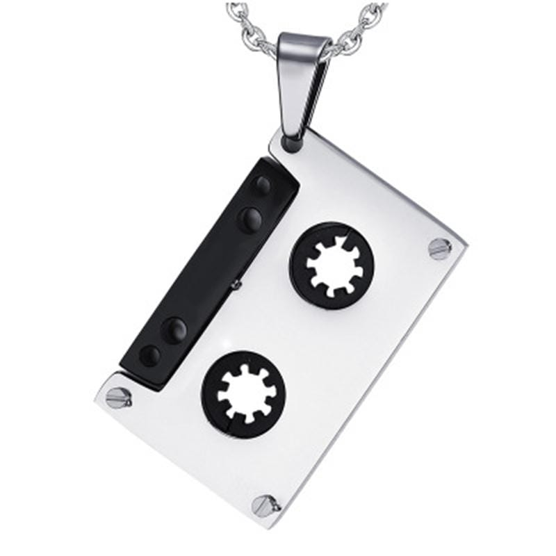 Audio Cassette Tape Necklace - Svaha USA