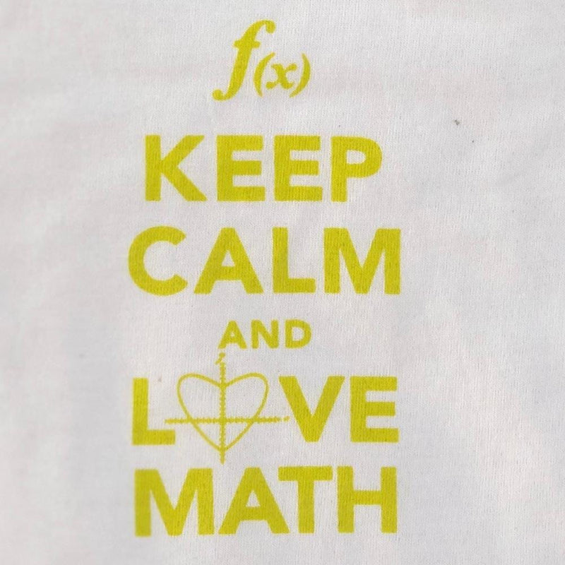 'Keep Calm and Do Math' Baby Bib Bundle - Organic Cotton 3-Pack - SVAHA USA