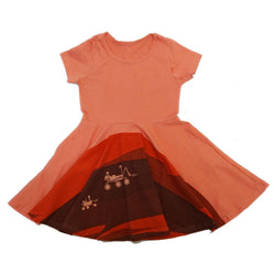 Mars Landing Kids Twirl Dress