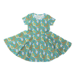 Save Our Marsupial Friends Kids Twirl Dress