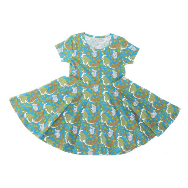 (Pre-order) Save Our Marsupial Friends Kids Twirl Dress