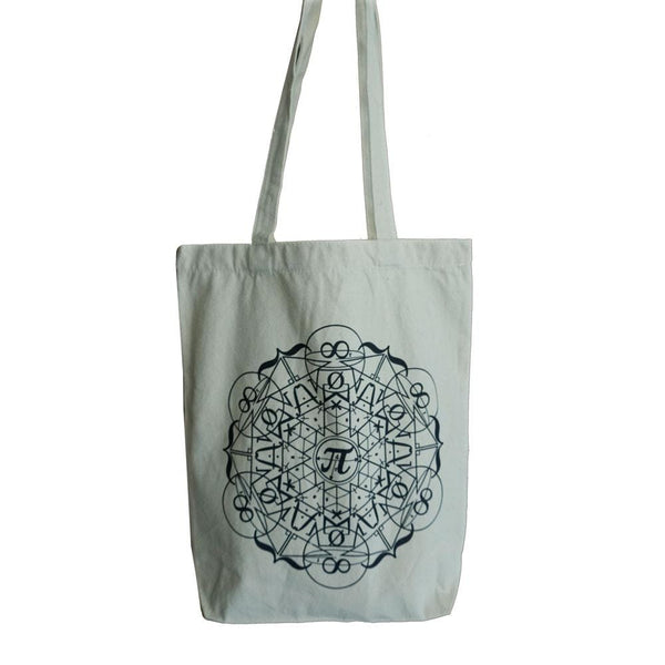 Math Mandala Tote Bag