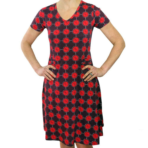 Calculation of Pi Dress, Arithmetic Dress, Math Dress, STEM Dress, Mathematics Equations Dress, Mathematician Dress, Algebra Dress, Algebraic Dress, Geometry Dress, Trigonometry Dress, Pi Women's Dress with Pockets - SVAHA USA