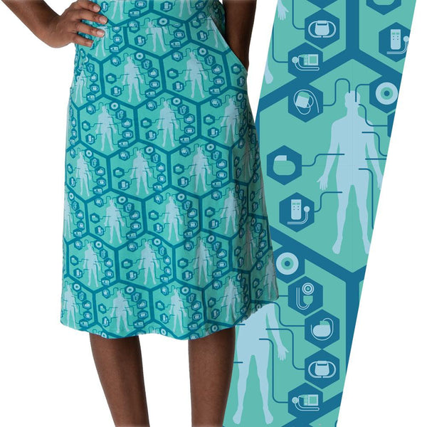 Medical Innovations A-Line Skirt [FINAL SALE]