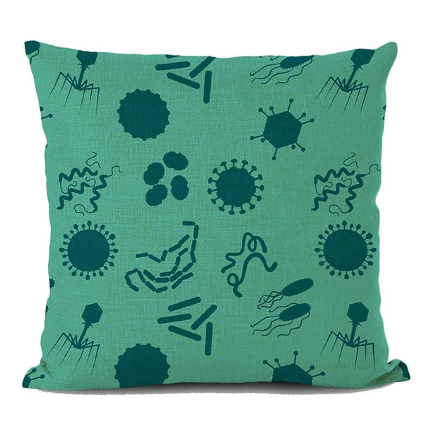 Microbiology Cushion Covers