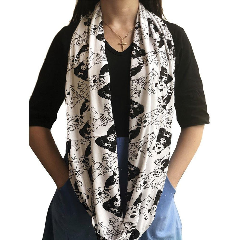 Animal Maternal Warmth Infinity Scarf [FINAL SALE]