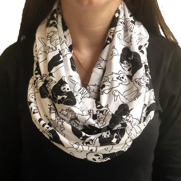 Animal Maternal Warmth Infinity Scarf