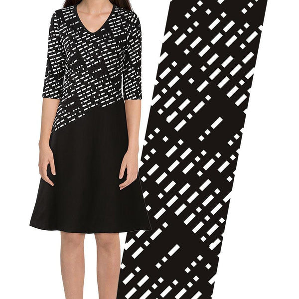 Morse Code Katherine Dress