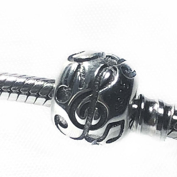 Music Notes Sterling Silver Charm - Svaha Apparel