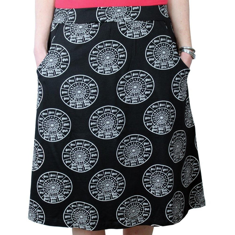 Music Skirt, Musical Skirt, Circle of Fifths Skirt, STEM Skirt, Art Skirt, Instrument Skirt, Piano Skirt, Music Scale Skirt, Musical Skirt with Pockets - SVAHA USA - Svaha USA