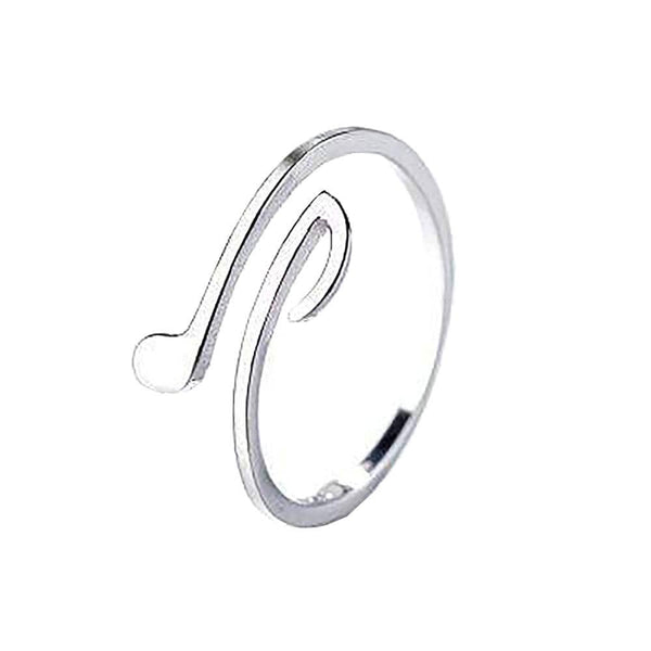 Music Notes Sterling Silver Ring
