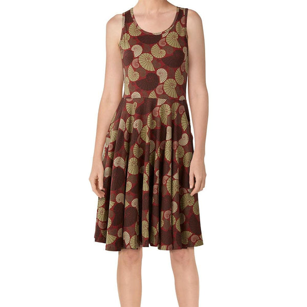 Nautilus Fossils Rita Dress