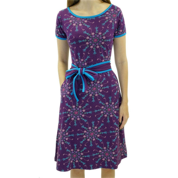 Neuron Mandala Emmy Dress