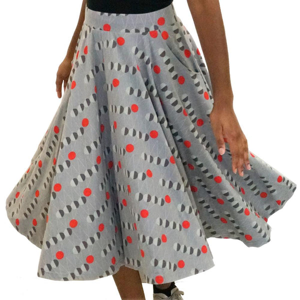 Newton's Cradle Twirl Skirt