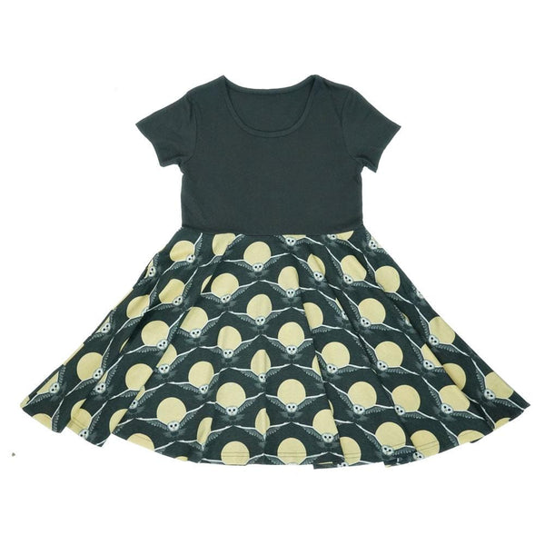 Night Flight Owl Kids Dress
