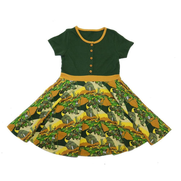 Not All Those Who Wander Kids Twirl Dress