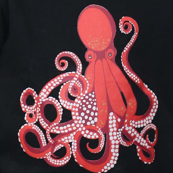 Octopus Glow-in-the-Dark Print - Svaha Apparel