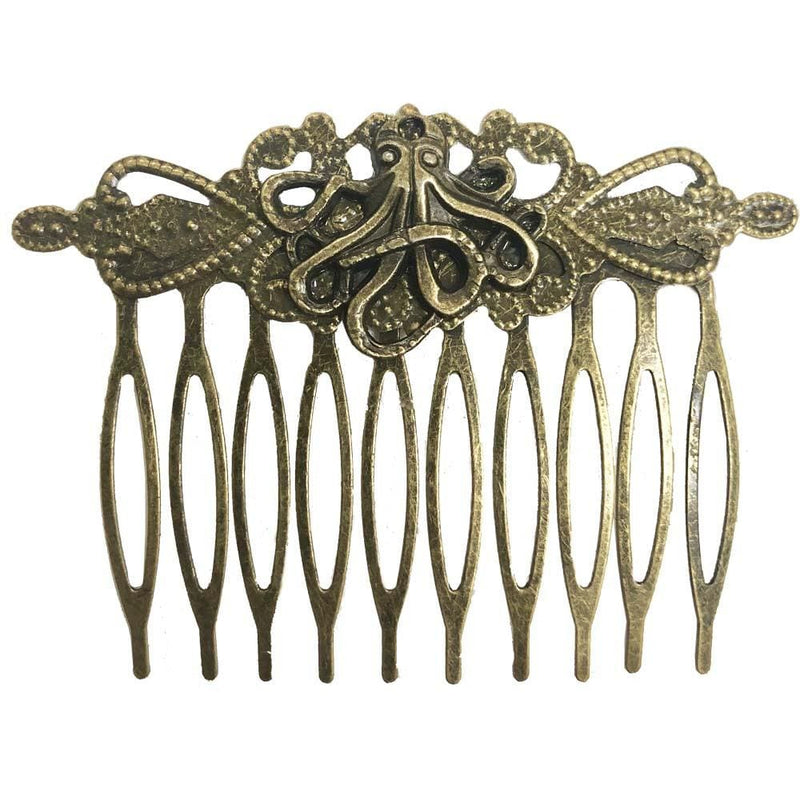 Vintage Octopus Hair Comb