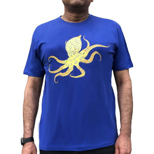 Glow-in-the-Dark Shirt, Science Shirt, STEM Shirt, Octopus Shirt, Oceanography Shirt, Oceanographer Shirt, Marine Biology Shirt, Marine Biologist Shirt, Sea Creatures Shirt, Tentacles Shirt, Science Shirt, STEM Shirt, Sea Animal Shirt, Cephalopoda Shirt, Squid Shirt, Nautiloids Shirt, Octopus Glow-in-the-Dark Unisex Adult T-Shirt - SVAHA USA