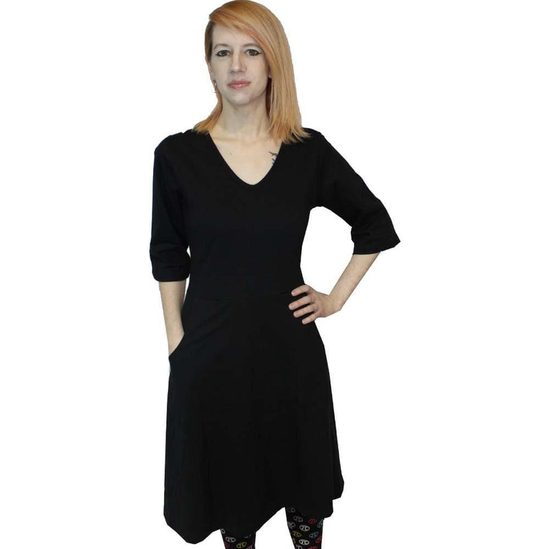 Onyx Rosalind Dress