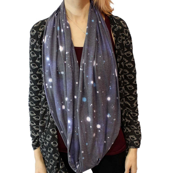 Out of This World Infinity Scarf - Svaha Apparel