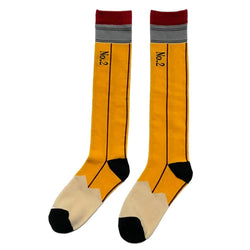 No. 2 Pencil High Socks