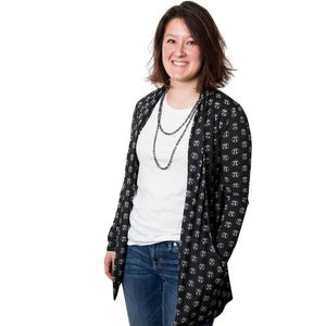 Mathematical Pi Cardigan, Math Cardigan, Pi Cardigan, Mathematics Cardigan, Arithmetic Cardigan, Geometry Cardigan, Physics Cardigan, Trigonometry Cardigan, Algebra Cardigan, STEM Cardigan with Pockets - SVAHA USA