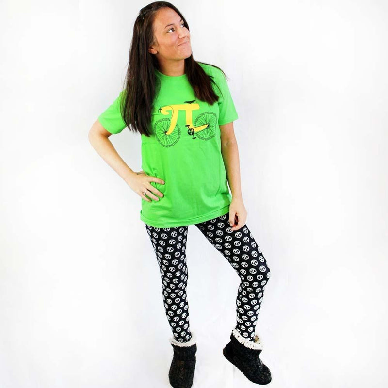 Pi Symbols Adult Leggings - Svaha Apparel