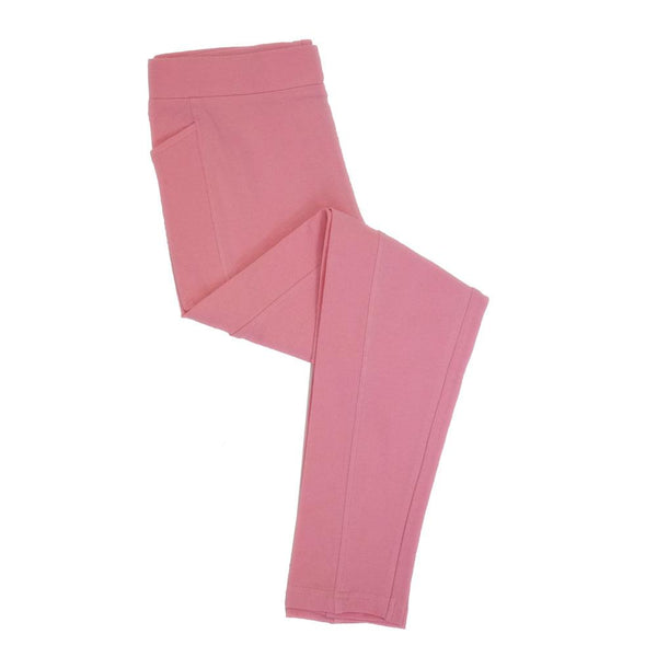 Pink Kids Leggings With Pockets