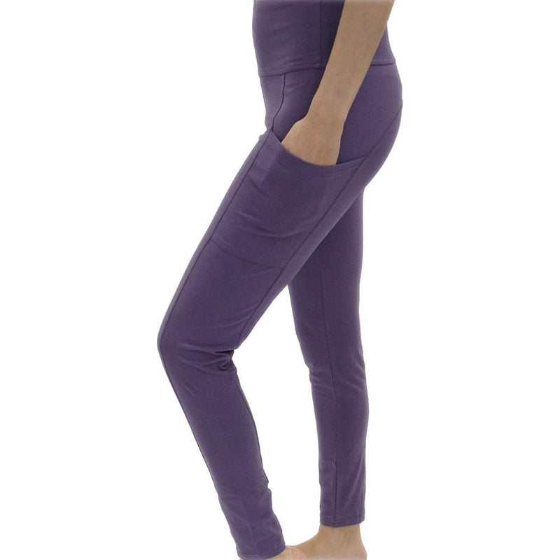 Purple Adults Leggings with Pockets