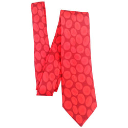 Science Tie, RBC Tie, Geeky Tie, Mens Tie, STEM Tie, Red Blood Cells Woven Silk Tie - Svaha Apparel
