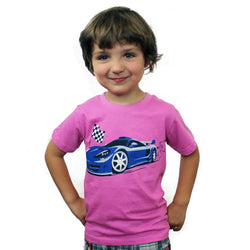 Race Car Kids T-Shirt - Svaha Apparel