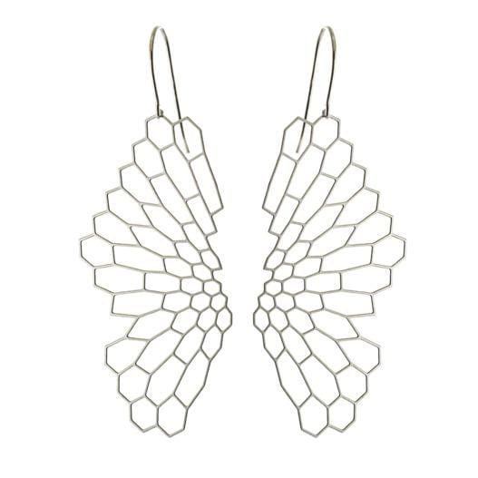 Radiolaria Stainless Steel Earrings