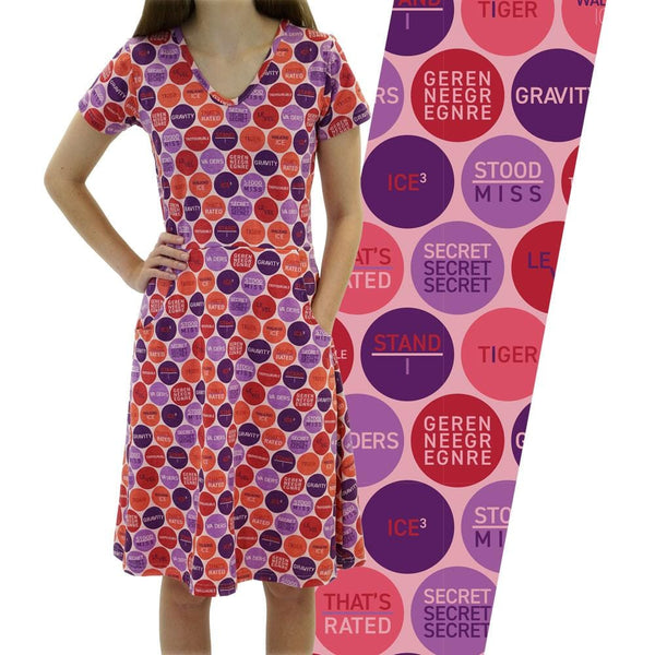 Rebus Polka Dots Rosalind Dress