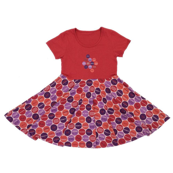 Rebus Polka Dots Kids Twirl Dress