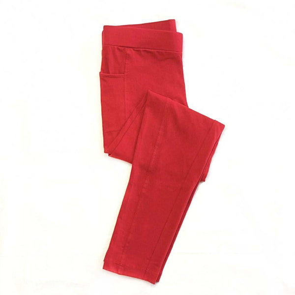 Kids Cotton Leggings with Pockets