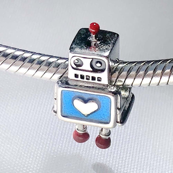 Robot Friend Sterling Silver Charm [FINAL SALE]