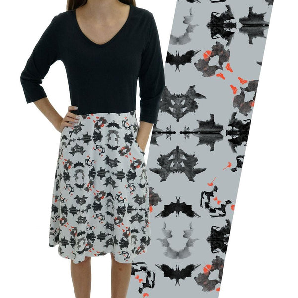 Rorschach Test Ada Dress
