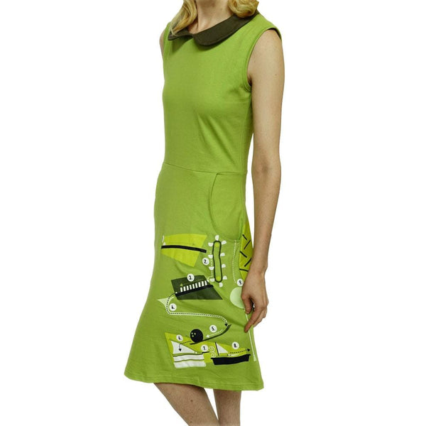 Rube Goldberg Eileen Dress