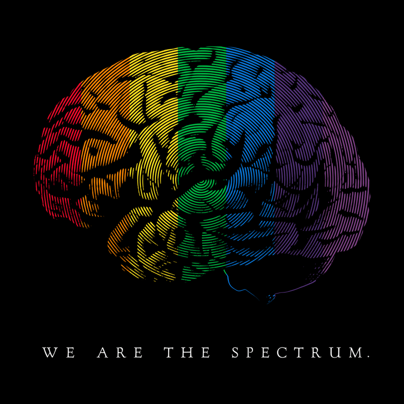 We Are the Spectrum Unisex Adults T-Shirt