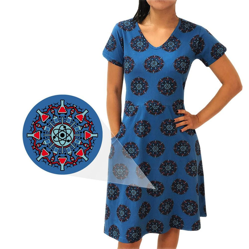 Science Mandala Rosalind Dress [FINAL SALE]
