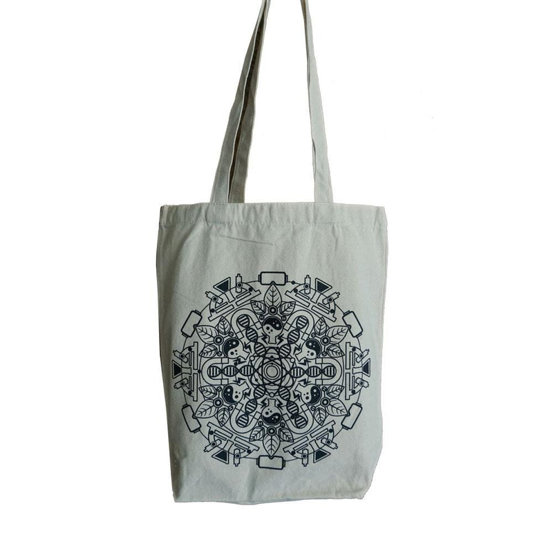 Science Mandala Tote Bag