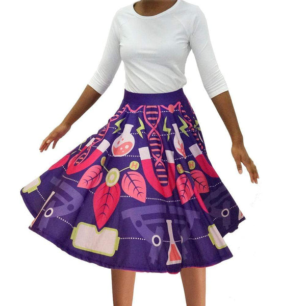 Science Mandala Twirl Skirt
