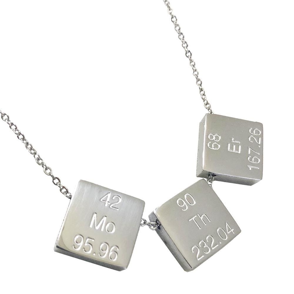 Geek Jewelry, Silver Jewelry, Teacher Jewelry, Geeky Science Necklace, Geeky Science Jewelry, Fun Teacher Clothing, Nerdy Jewelry, Geek Science Apparel - SVAHA USA