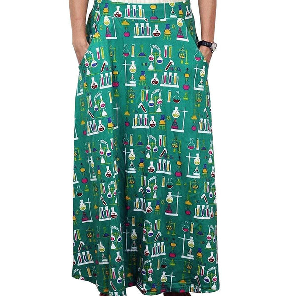 Chemistry Lab Maxi Skirt
